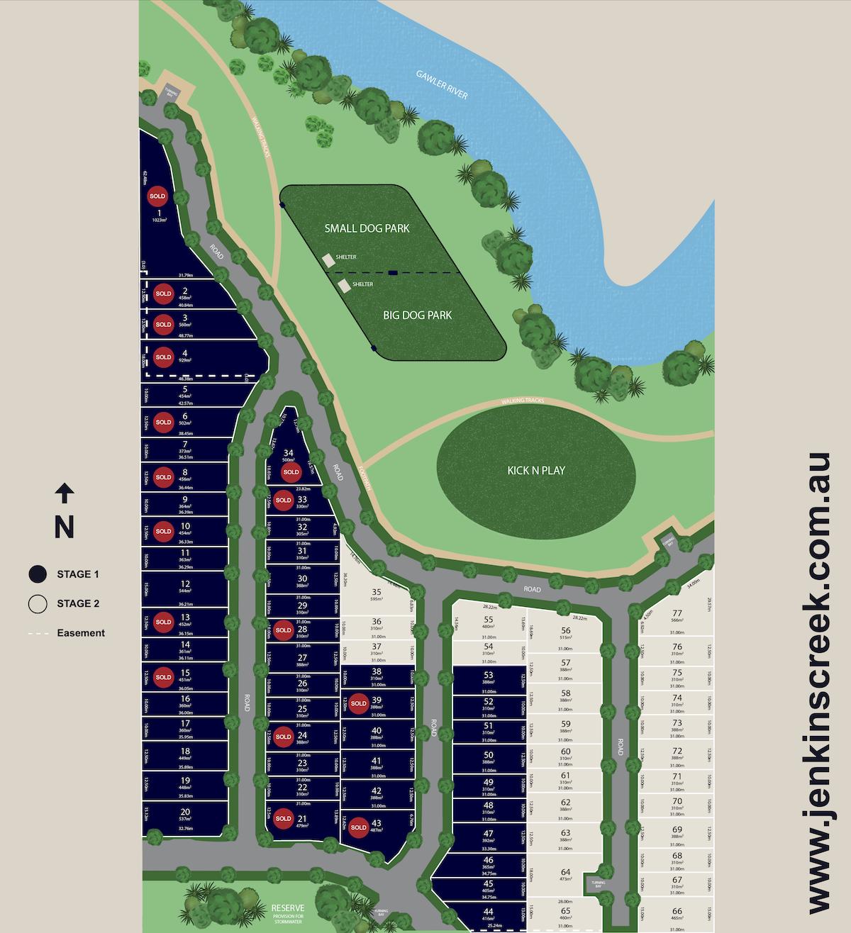 Jenkins Creek Allotment Map